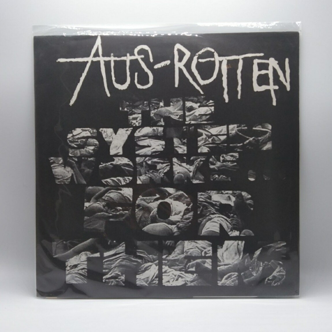 [USED] AUS ROTTEN -THE SYSTEM WORKS FOR THEM- LP