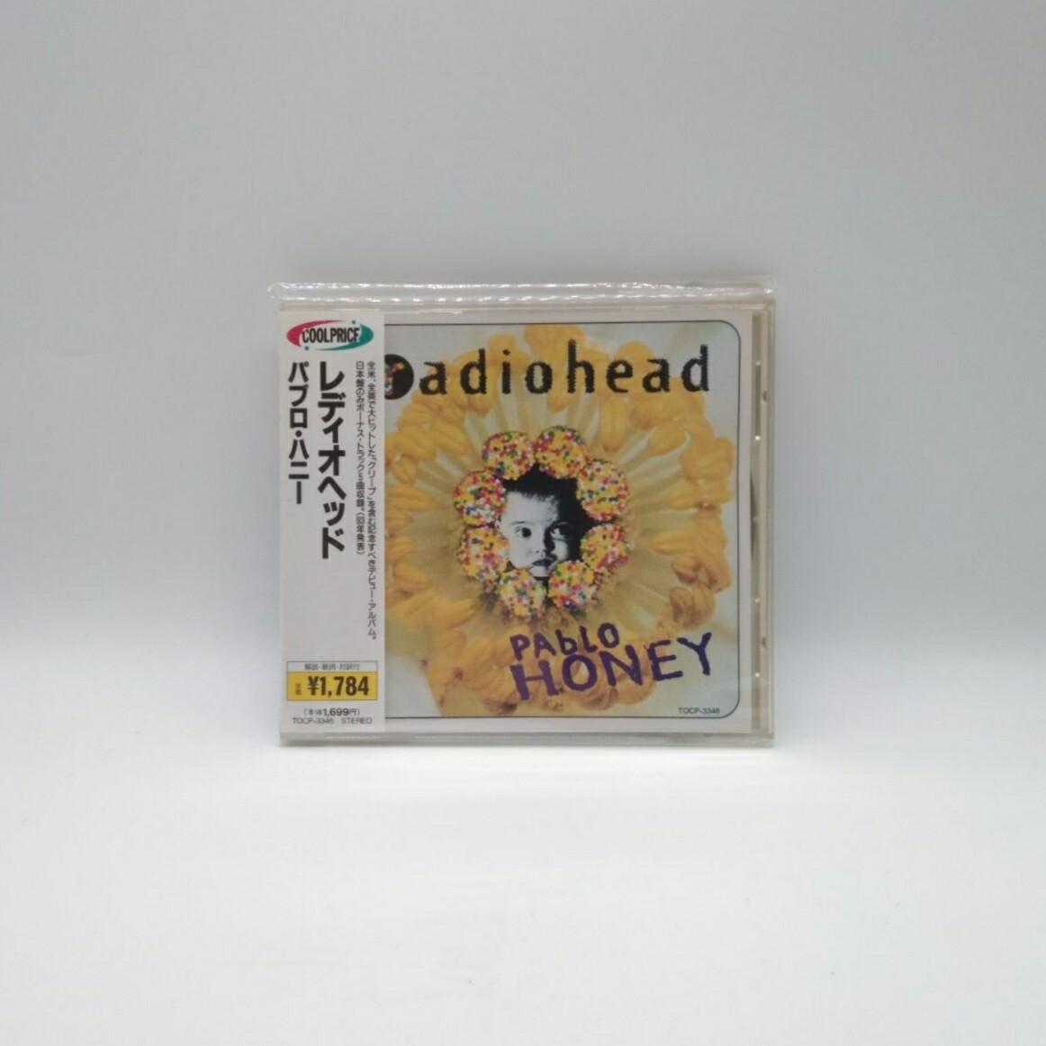 [USED] RADIOHEAD -PABLO HONEY- CD (JAPAN PRESS)