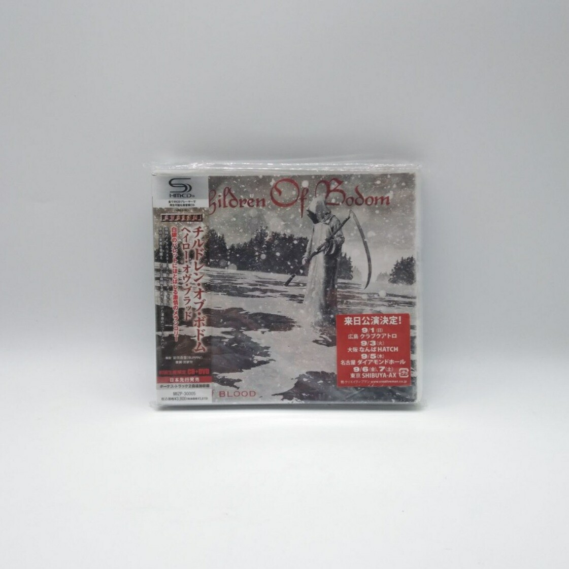 [USED] CHILDREN OF BODOM -CD + DVD (JAPAN PRESS)