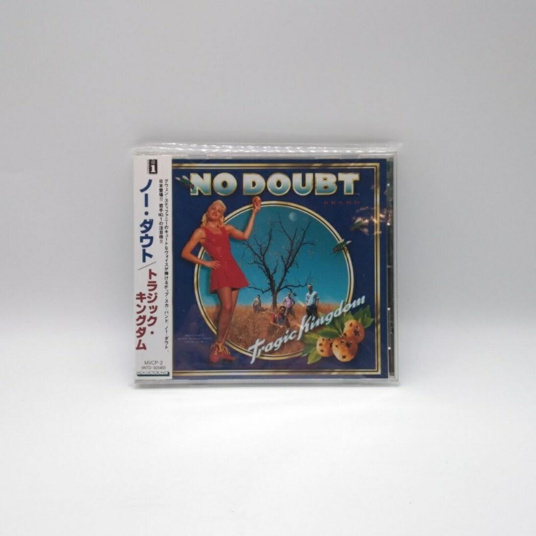 [USED] NO DOUBT -TRAGIC KINGDOM- CD (JAPAN PRESS)