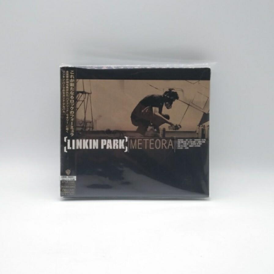[USED] LINKIN PARK -METEORA- CD + BUTTON (JAPAN PRESS)