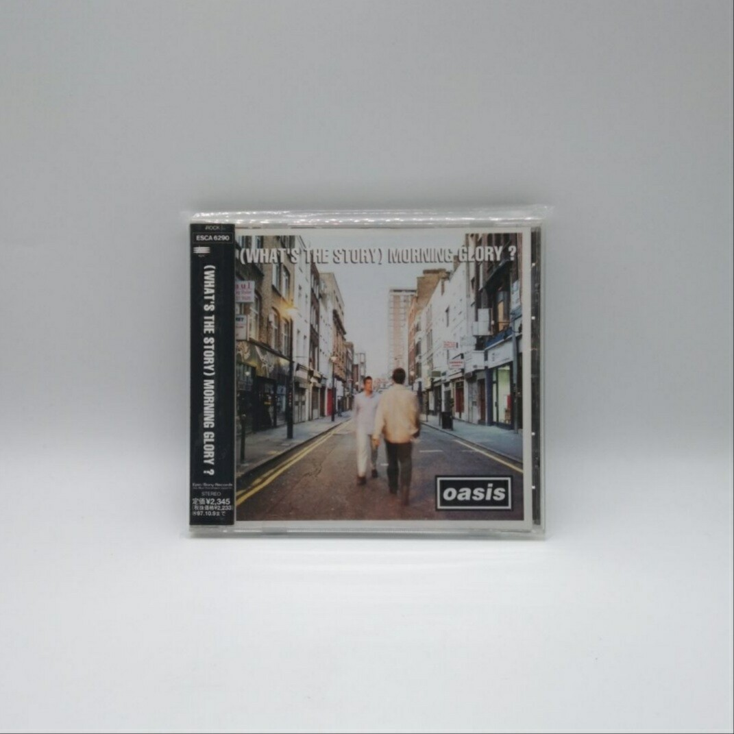 [USED] OASIS -(WHAT'S THE STORY) MORNING GLORY?- CD (JAPAN PRESS)