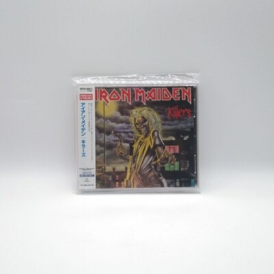 [USED] IRON MAIDEN -KILLERS- CD (JAPAN PRESS)
