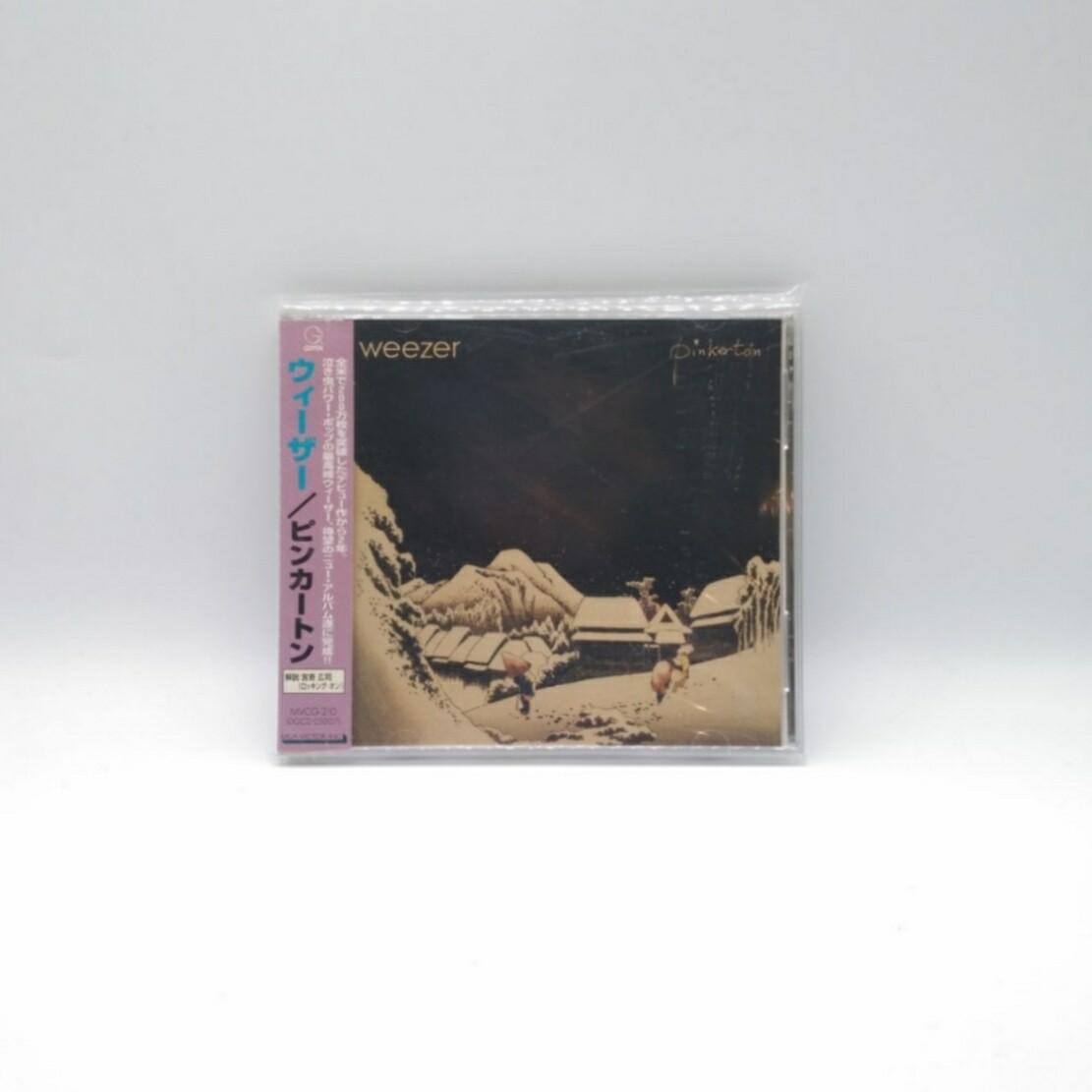 [USED] WEEZER -PINKERTON- CD (JAPAN PRESS)