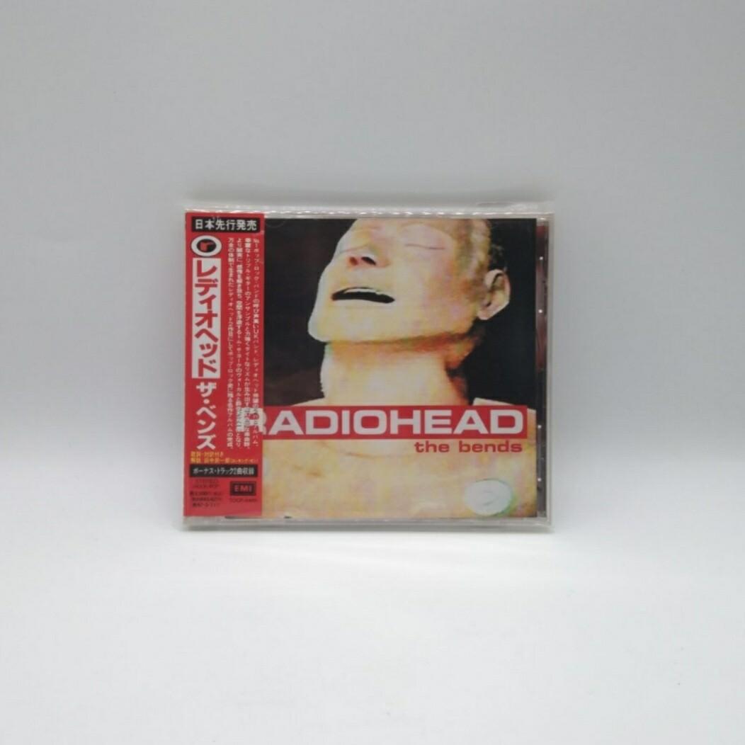 [USED] RADIOHEAD -THE BENDS- CD (JAPAN PRESS)