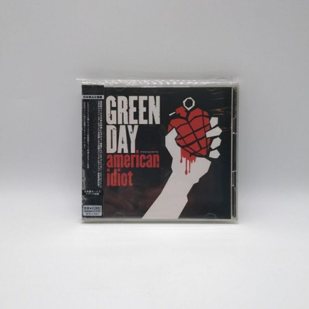 [USED] GREEN DAY -AMERICAN IDIOT- CD (JAPAN PRESS)