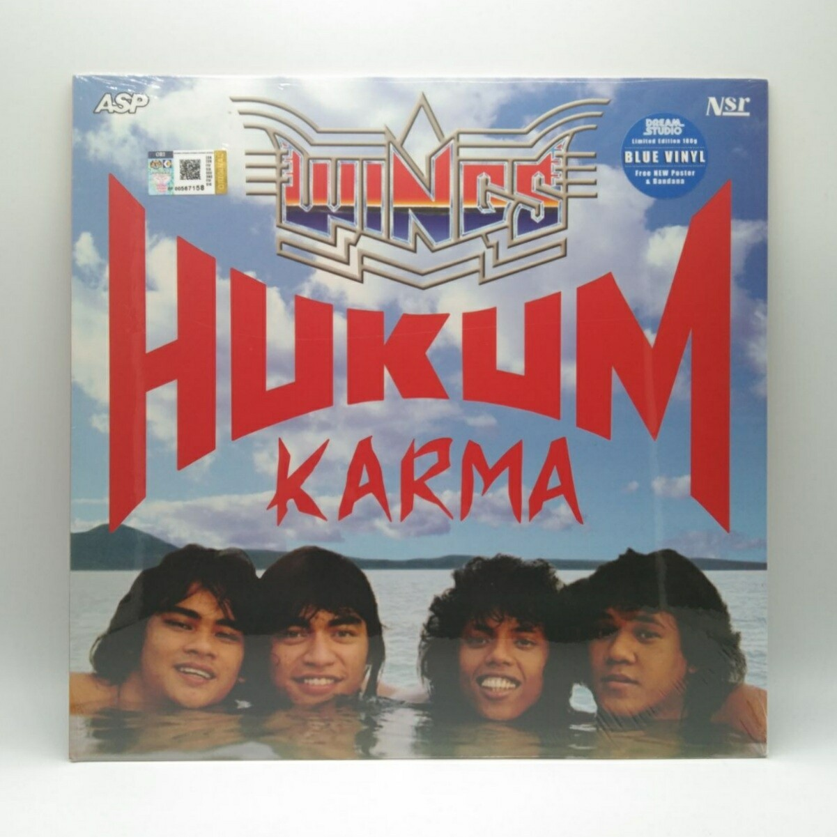 WINGS -HUKUM KARMA- LP (BLUE VINYL)