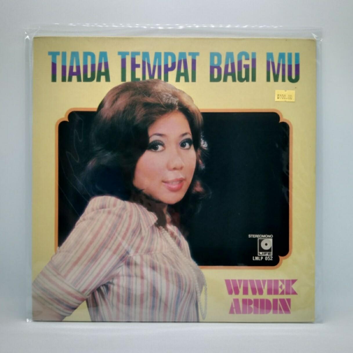 [USED] WIWIEK ABIDIN -TIADA TEMPAT BAGIMU- LP