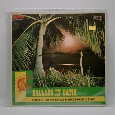 [USED] V/A -BALLADS IN BATIK: EXOTIC INDONESIA KRONTJONG MUSIC- LP