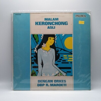 [USED] ORKES DBP R. MAROETI -MALAM KERONCONG ASLI- LP