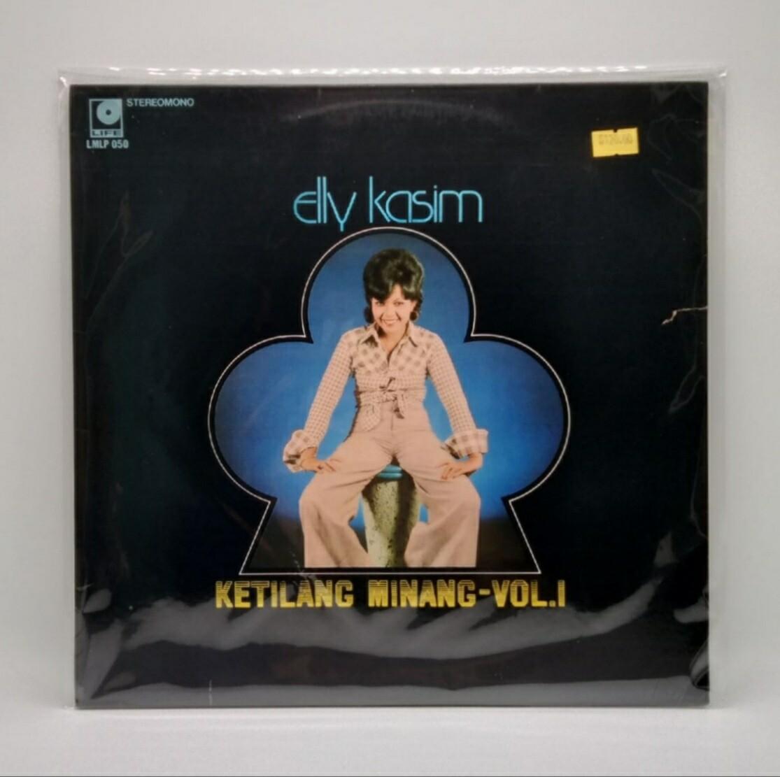 [USED] ELLY KASIM -KETILANG MINANG VOL. 1- LP