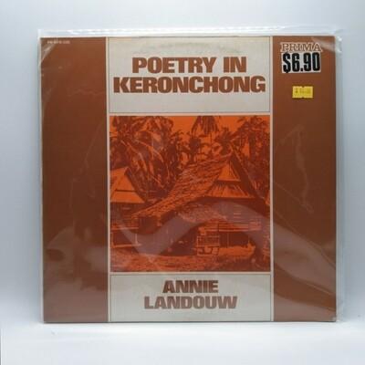 [USED] ANNIE LANDOUW -POETRY IN KERONCHONG- LP