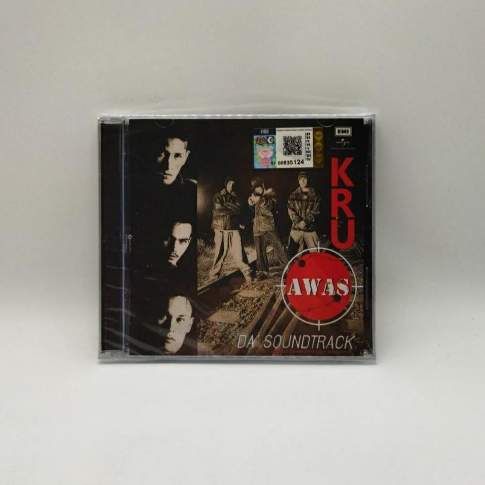 KRU -AWAS DA'SOUNDTRACK- CD