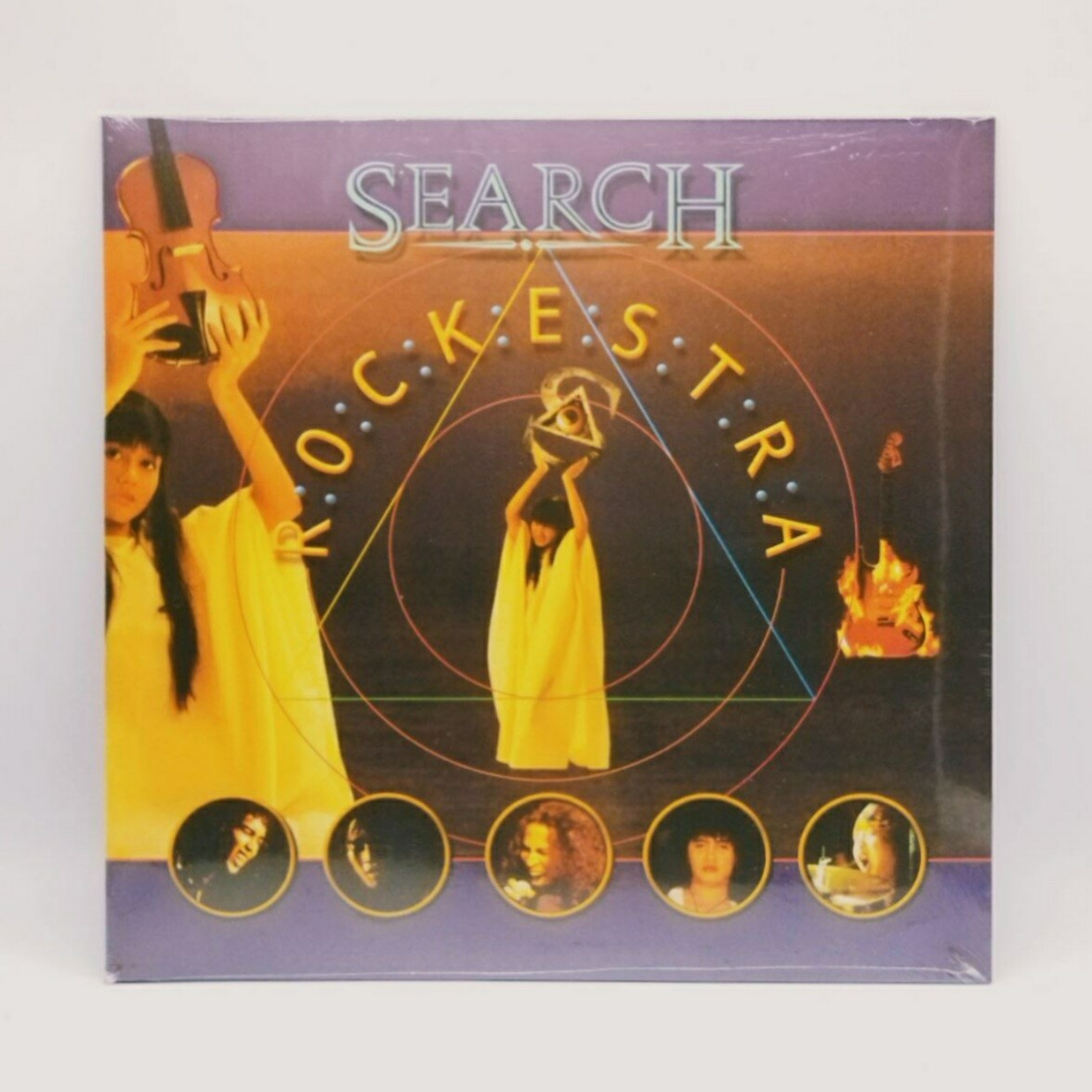 SEARCH -ROCKESTRA- 2XLP