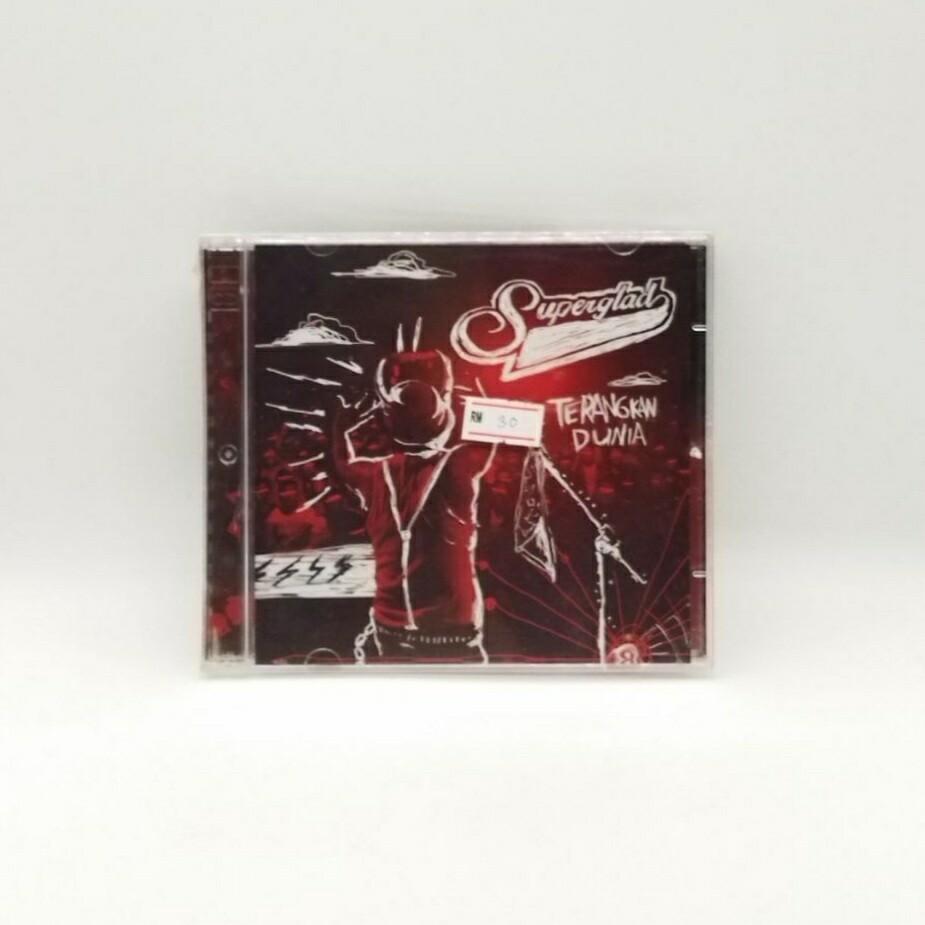 SUPERGLAD -TERANGKAN DUNIA- CD
