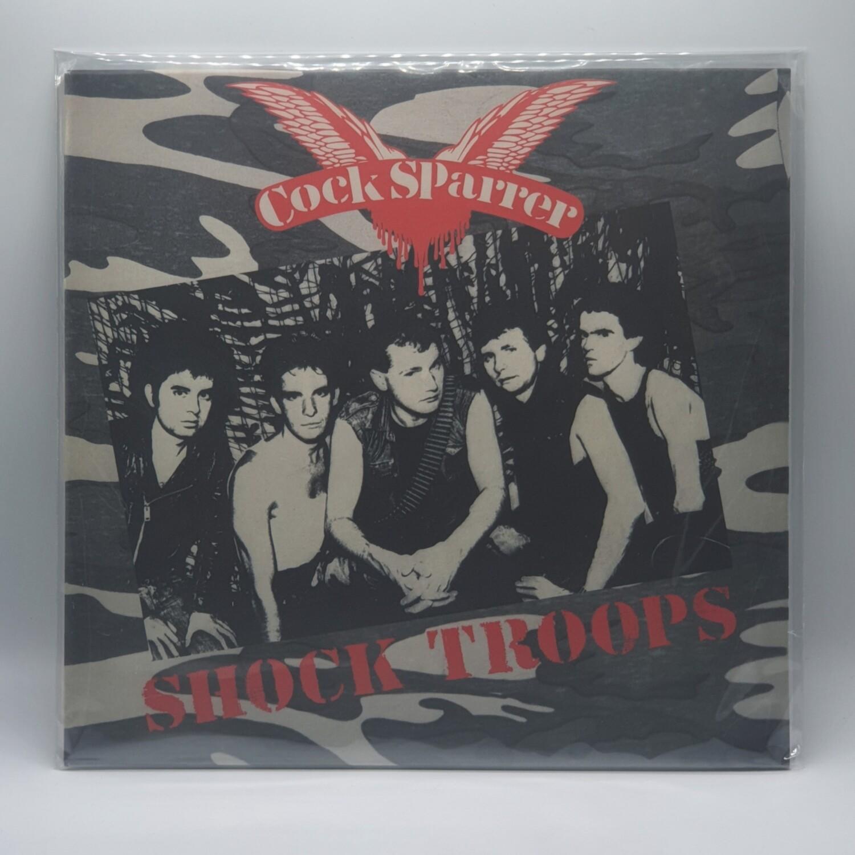 COCK SPARRER -SHOCK TROOPS- LP (COLOR VINYL)