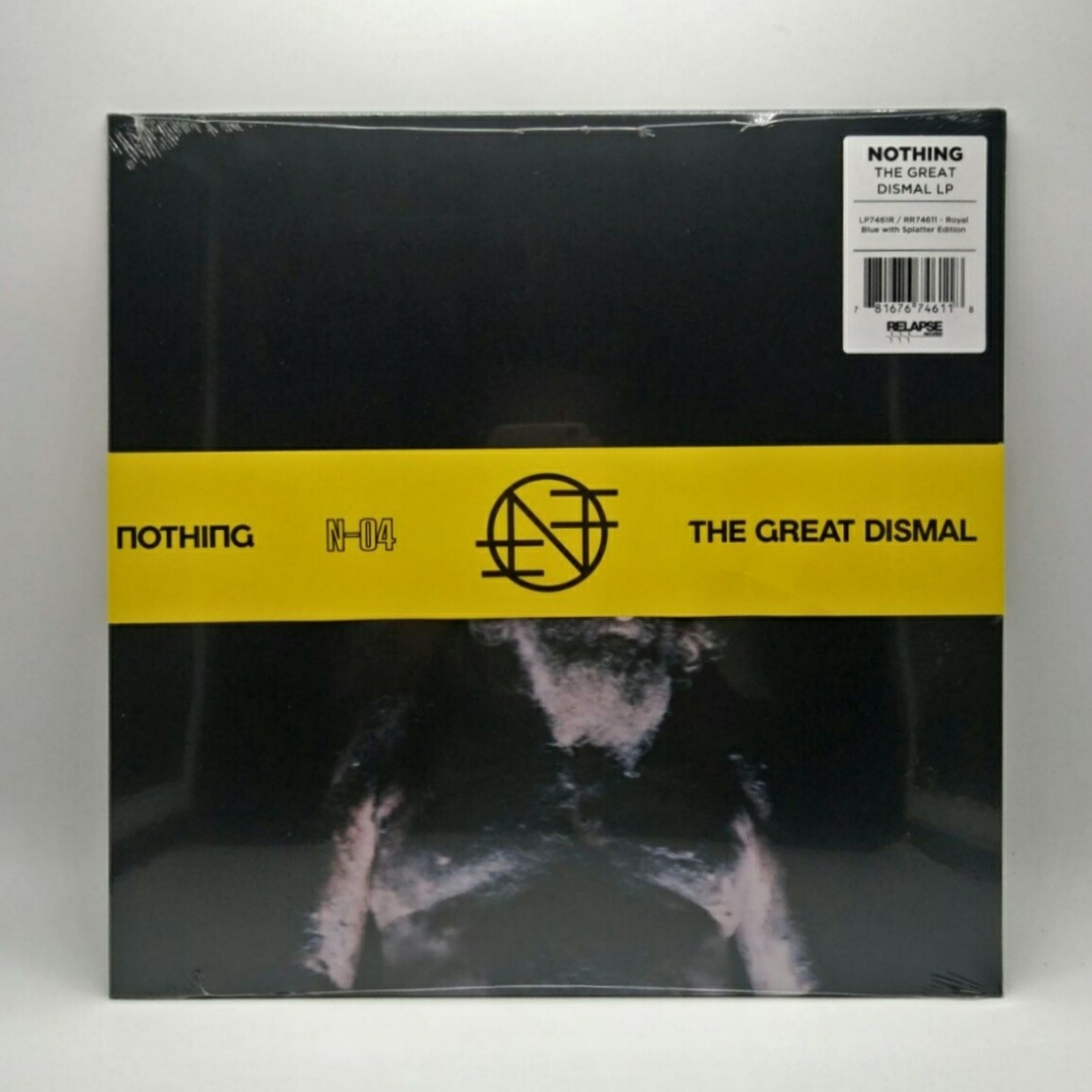 NOTHING -THE GREAT DISMAL- LP (NEON ORANGE AND MILKY CLEAR HALF SPLATTER)