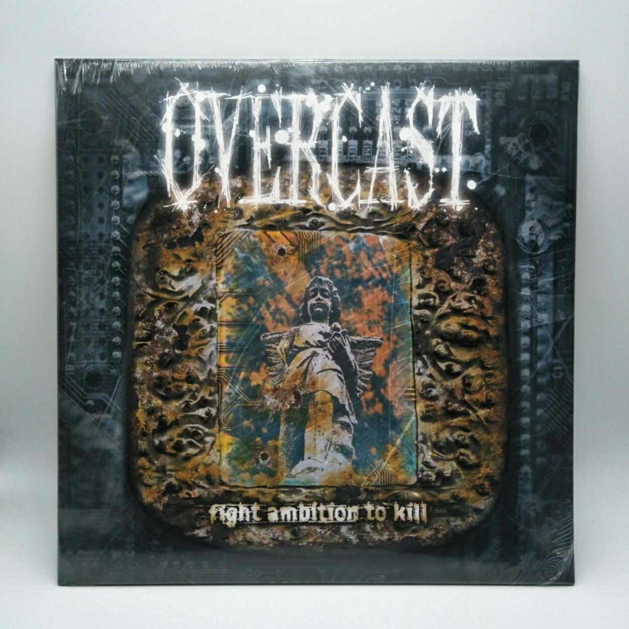 OVERCAST -FIGHT AMBITION TO KILL- LP (NEON PURPLE VINYL)