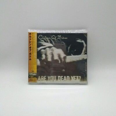 [USED] CHILDREN OF BODOM -ARE YOU DEAD YET?- CD (JAPAN PRESS)