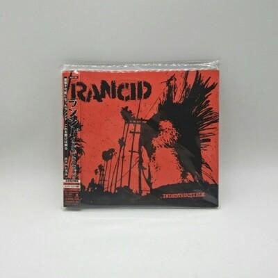 [USED] RANCID -INDESTRUCTIBLE- CD (JAPAN PRESS)