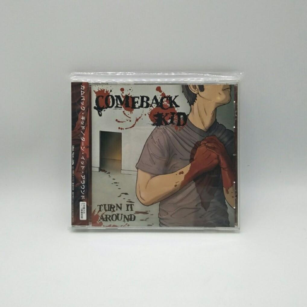 [USED] COMEBACK KID -TURN IT AROUND- CD (JAPAN PRESS)