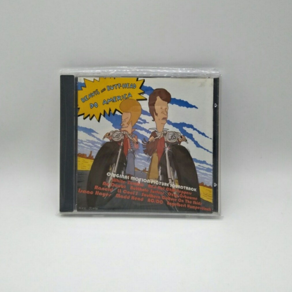 [USED] OST -BEAVIS & BUTT HEAD: DO AMERICA- CD