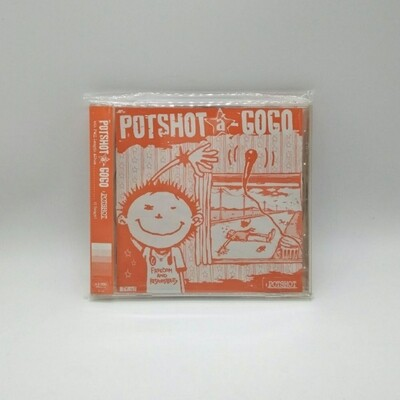 [USED] POTSHOT -POTSHOT A GO GO- CD (JAPAN PRESS)