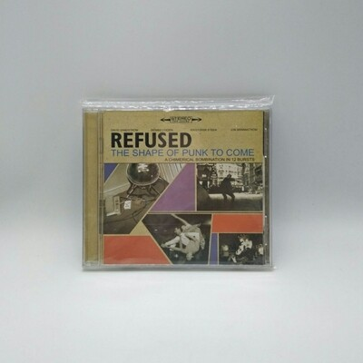 [USED] REFUSED -THE SHAPE OF PUNK TO COME- CD