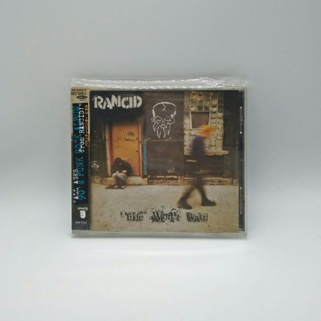 [USED] RANCID -LIFE WONT WAIT- CD (JAPAN PRESS)