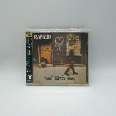[USED] RANCID -LIFE WONT WAIT- CD (JAPAN PRESS)