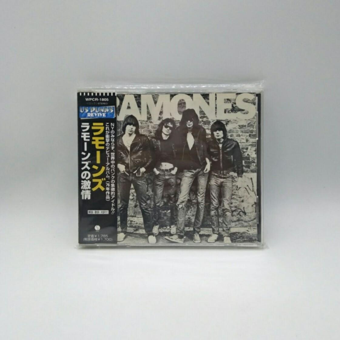 [USED] RAMONES -S/T- CD (JAPAN PRESS)