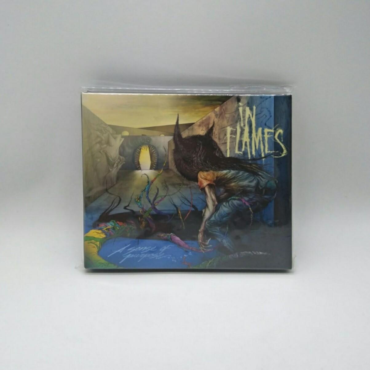 [USED] IN FLAMES -A SENSE OF PURPOSE- CD (JAPAN PRESS)