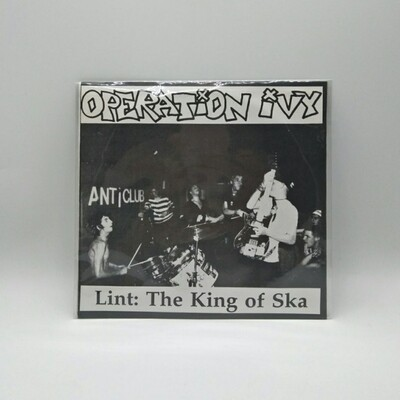 [USED] OPERATION IVY -LINT: THE KING OF SKA- 7 INCH VINYL