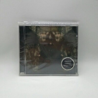 [USED] DIMMU BORGIR -ENTHRONE DARKNESS TRIUMPHANT- CD (LIMITED EDITION SHAPE CD)