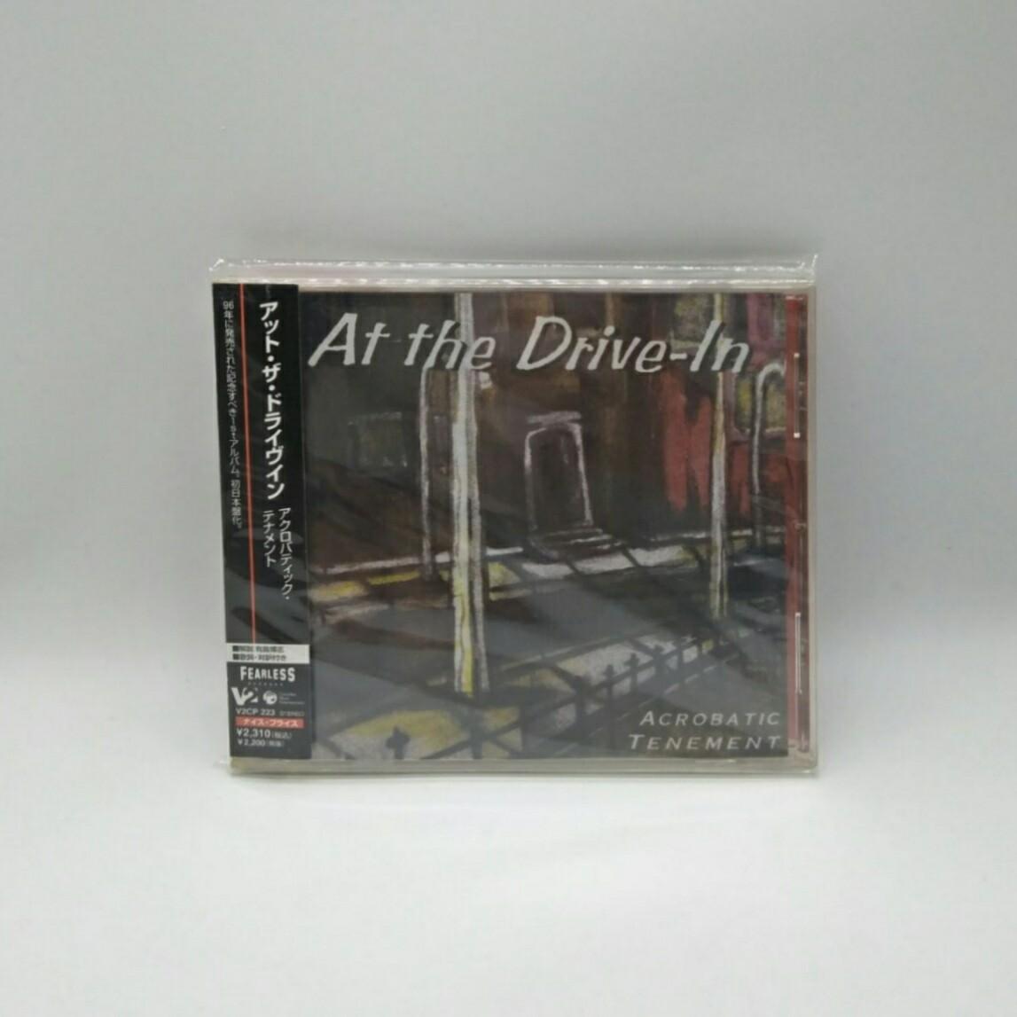 [USED] AT THE DRIVE IN -ACROBATIC TENEMENT- CD (JAPAN PRESS)