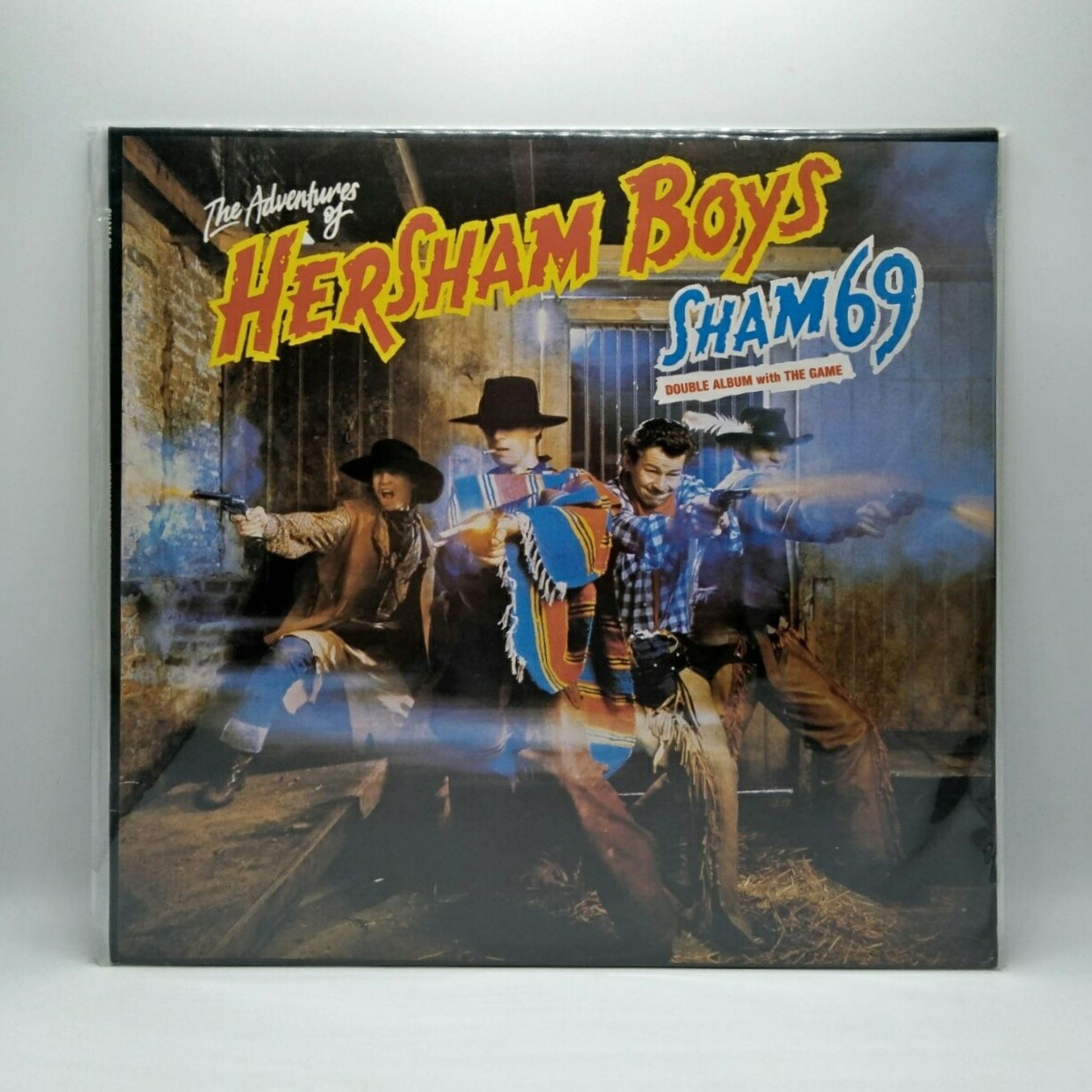 [USED] SHAM 69 -THE ADVENTURES OF HERSHAM BOYS & THE GAME- 2XLP