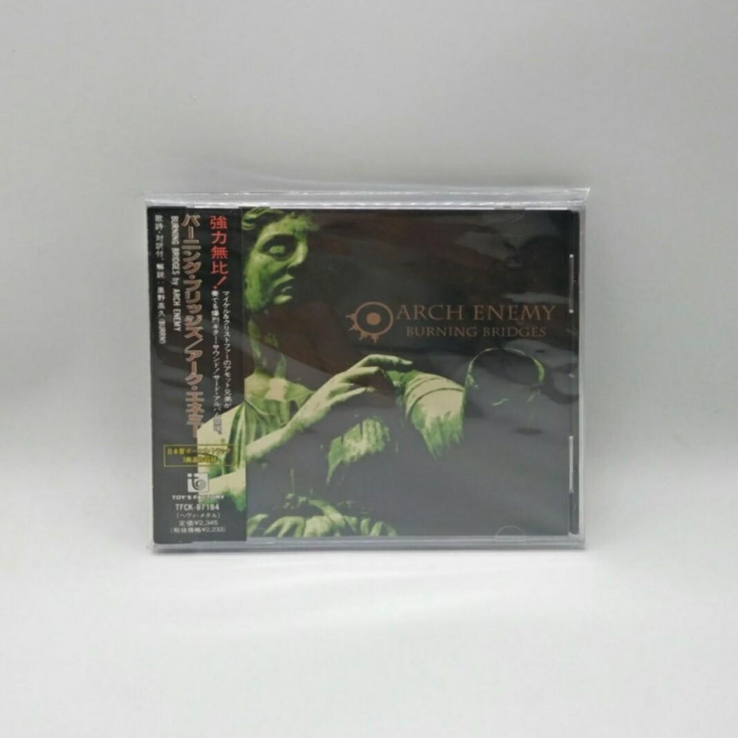 [USED] ARCH ENEMY -BURNING BRIDGES- CD (JAPAN PRESS)