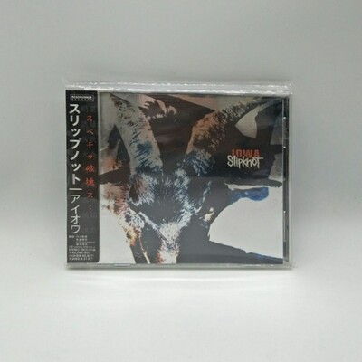 [USED] SLIPKNOT -IOWA- CD (JAPAN PRESS)
