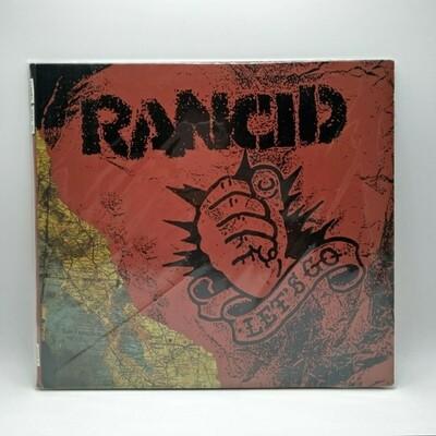 RANCID -LETS GO- 10 INCH VINYL  (COLOR VINYL)