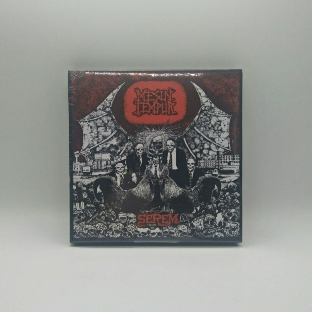 MESIN TEMPUR -SEREM: THE GREATEST GRIND- 3 X 7 INCH VINYL BOXSET (COLOR VINYL)