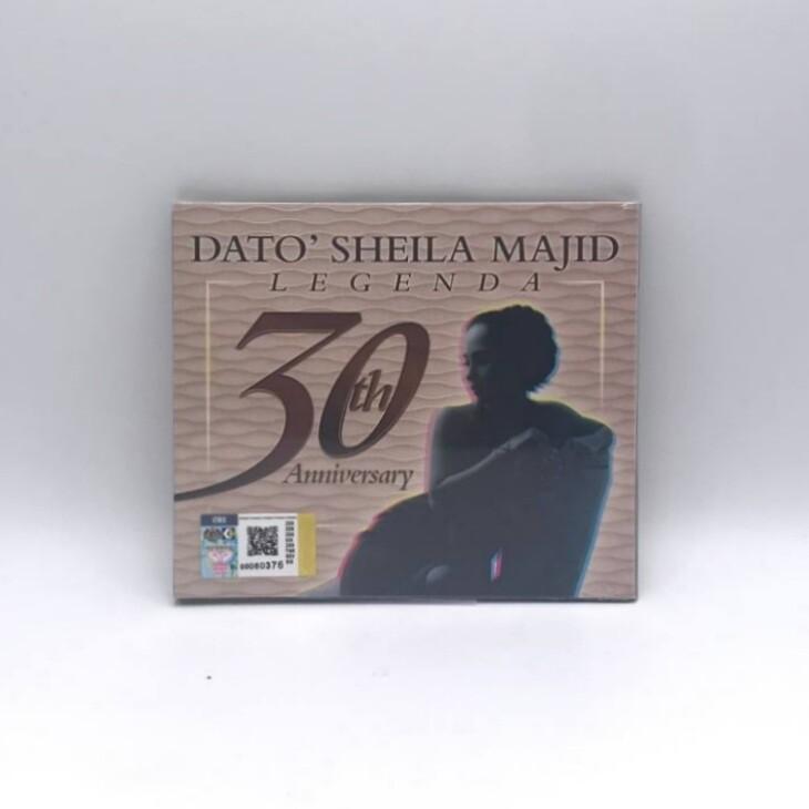 DATO SHEILA MAJID -LAGENDA:30TH ANNIVERSARY- CD