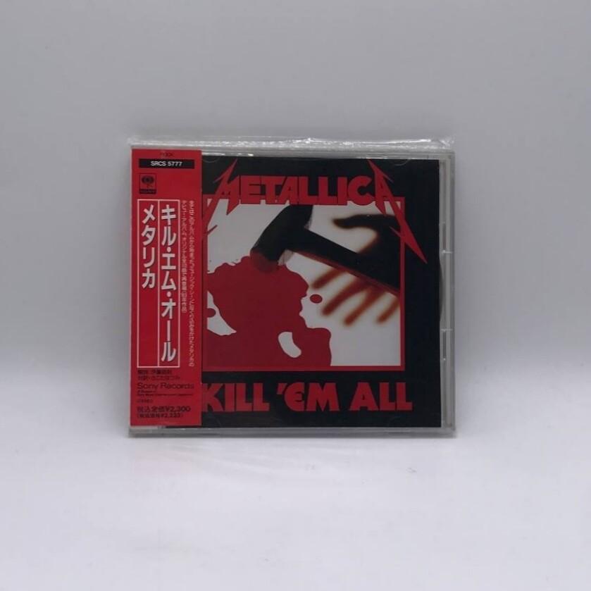 [USED] METALLICA -KILL EM ALL- CD (JAPAN PRESS)