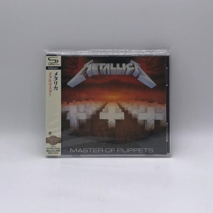 [USED] METALLICA -MASTER OF PUPPET- SHM CD (JAPAN PRESS)