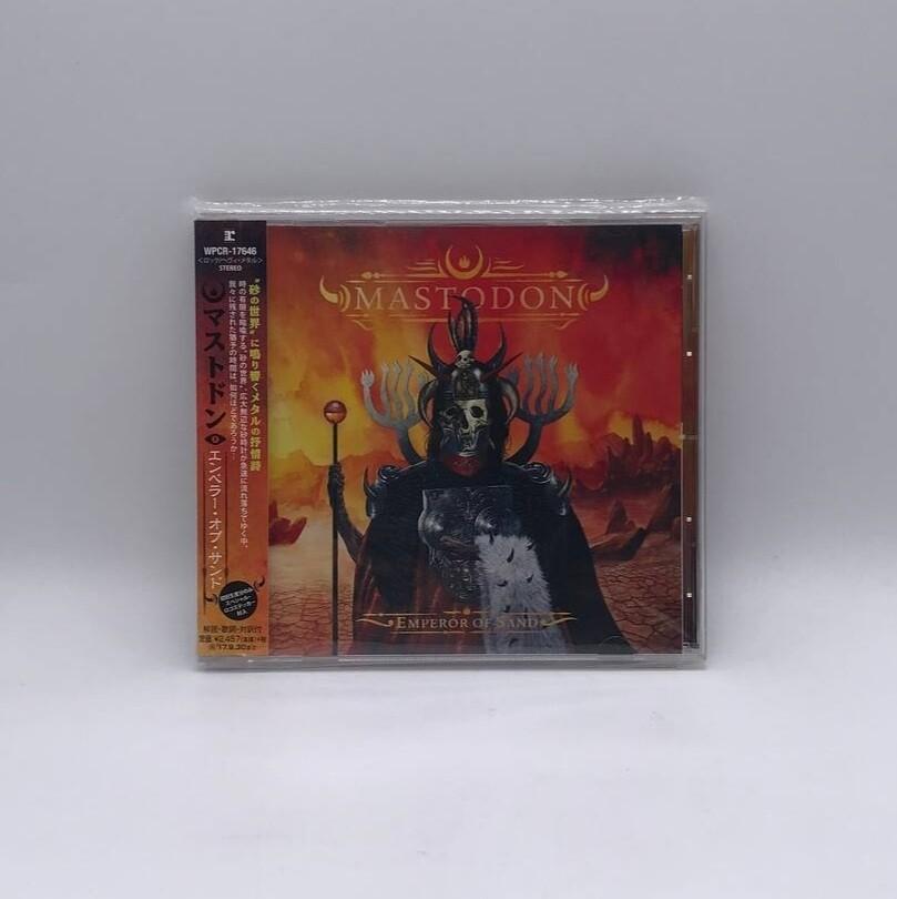 [USED] MASTODON -EMPEROR OF THE SAND- CD (JAPAN PRESS)