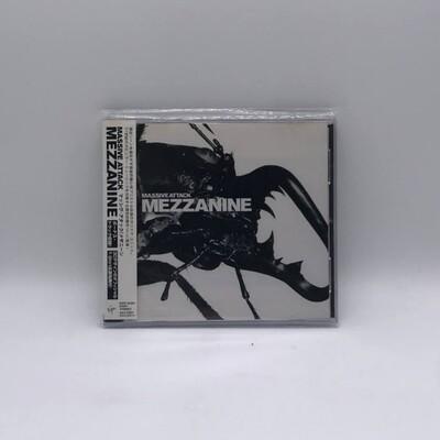 [USED] MASSIVE ATTACK -MEZANINE- CD (JAPAN PRESS)