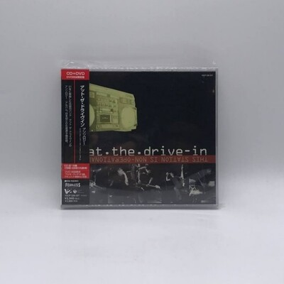 [USED] AT THE DRIVE IN -ANTHOLOGY: THIS STATION IS NON-OPERATIONAL-CD + DVD