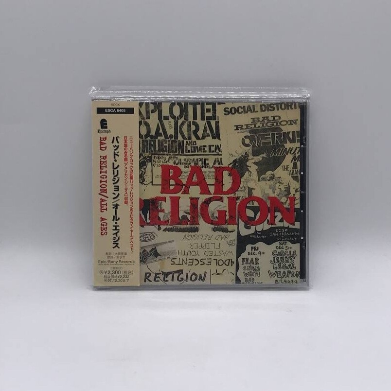 [USED] BAD RELIGION -ALL AGES- CD (JAPAN PRESS)