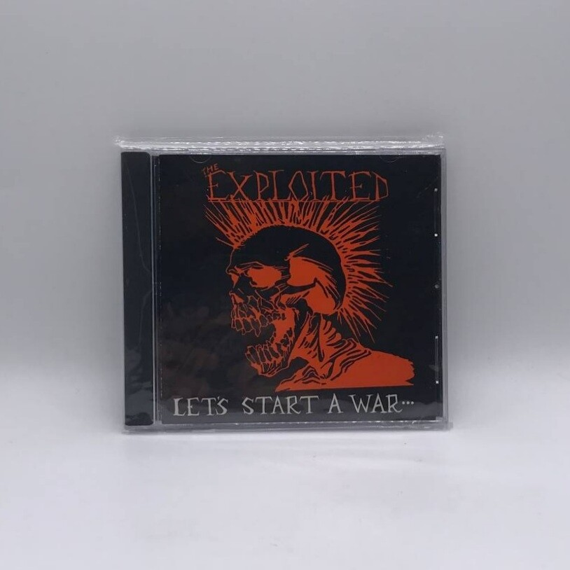 [USED] THE EXPLOITED -LETS START A WAR- CD