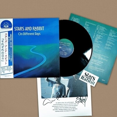 [PRE ORDER] STARS AND RABBIT -On different days- LP (JAPAN PRESS)