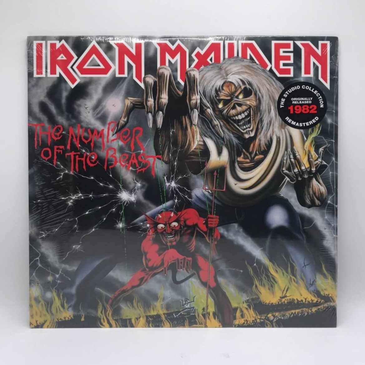 IRON MAIDEN -THE NUMBER OF THE BEAST- LP
